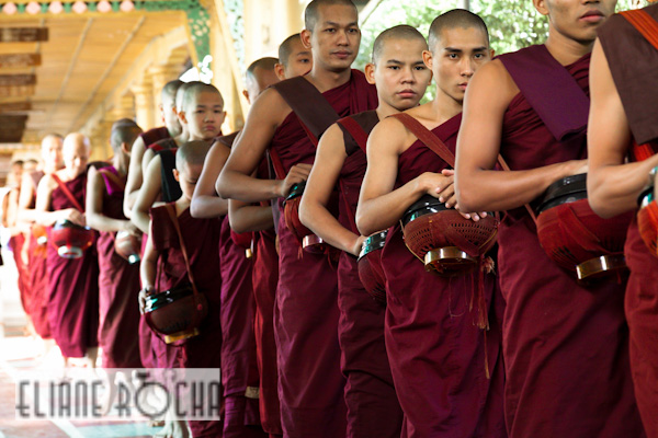 Monks in Bago - Burma