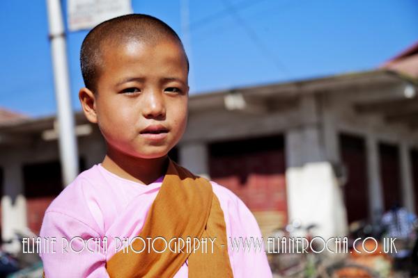 Inle Lake - Burma - Nun