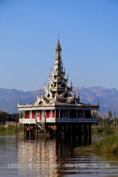 Inle Lake - Burma - Stilt House