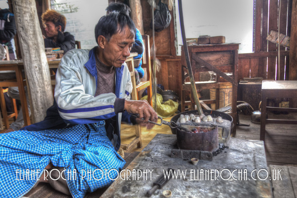 Inle Lake - Burma - Jewellery Workshop
