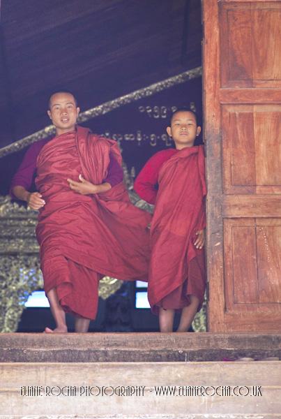 Inle Lake - Burma - Monastery