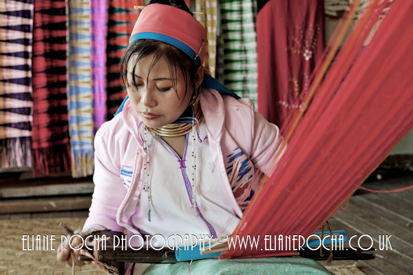 Inle Lake - Burma - Weaving workshop
