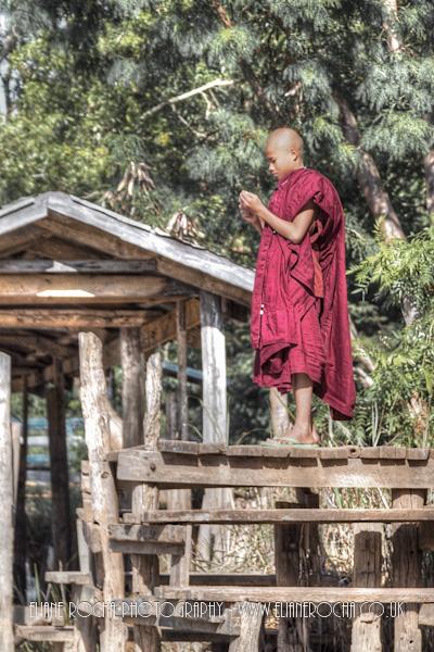 Inle Lake - Burma - Monk