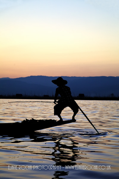 Inle Lake - Burma - Fisherman