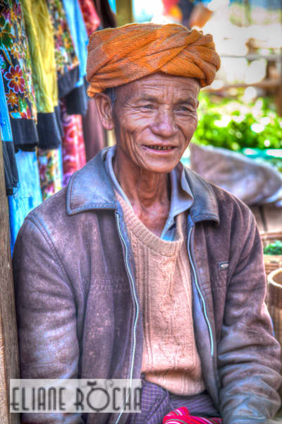 Kalaw - Burma - Market Faces