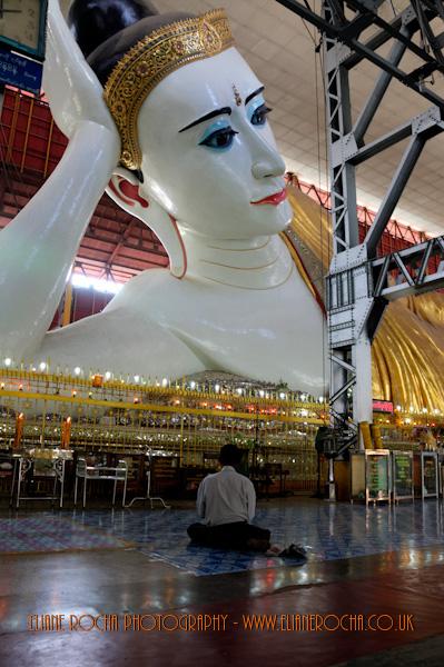 Reclined Budha - Yangon - Burma