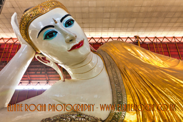 Reclined Buddha - Yangon - Burma