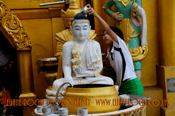 Shwedagon Pagoda - Yangon - Burma