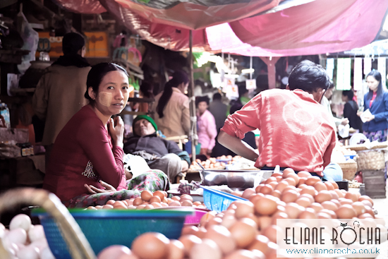 In the Market - Bagan - Burma