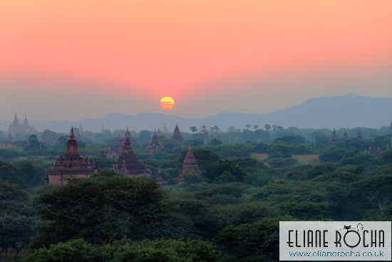 Sunset Bagan - Burma