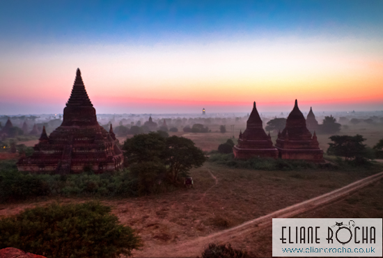 Sunrise Bagan - Burma
