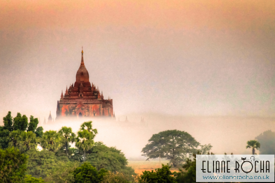 Sunrise Htilominlo Temple - Bagan - Burma