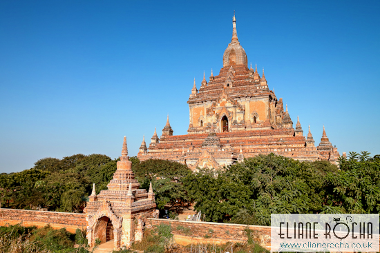 Temple in Bagan - Burma