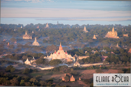 Burma - Bagan - Ballon Flight